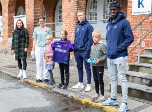 Fodboldhelte fra FC Midtjylland skabte glæde
