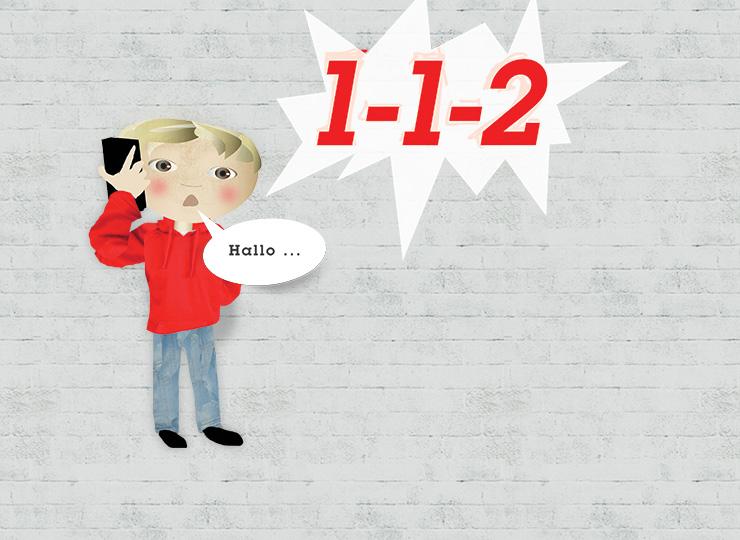 Lær dit barn at ringe 1-1-2