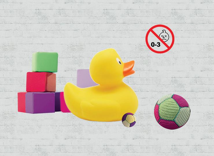Legetøj til børn under 3 år