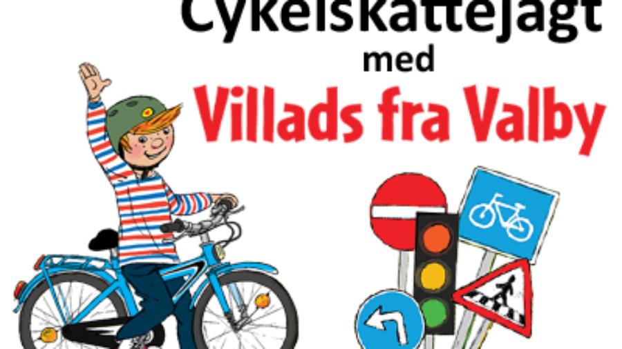 Cykelskattejagt Buf dk lille banner